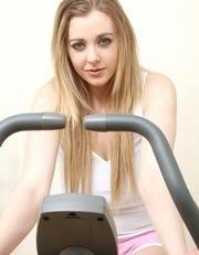 Blonde watching me at gym...